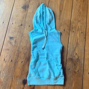Under Armour sleeveless hoodie women's XS